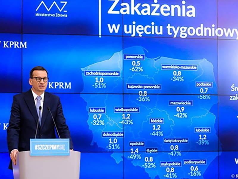 «На жаль, пандемія не закінчилася. Ми все ще маємо справу з небезпечними мутаціями», – прем'єр-міністр Польщі Матеуш Моравецький